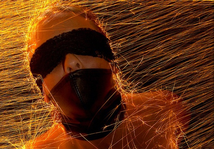 Les étincelles de feu