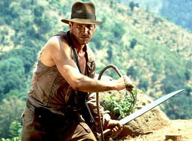 Le fouet d'Indiana Jones