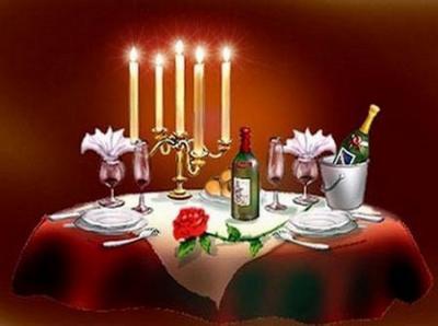 Une soirée romantique