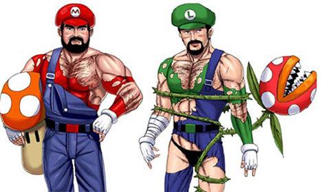 Bondage Mario