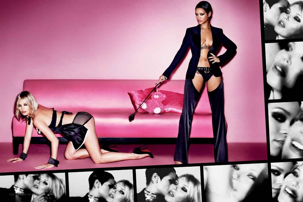 Kate Moss et Rihanna
