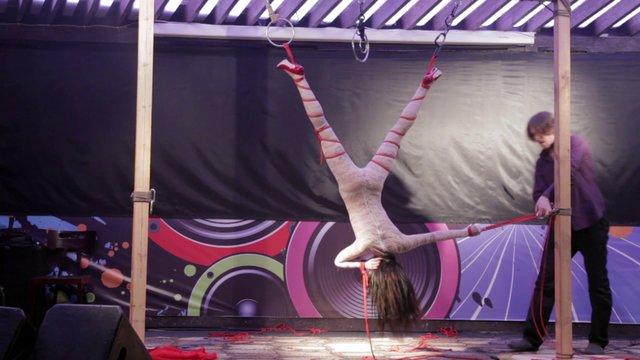 Shibari show Boris Mosafir & Taboo